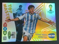 Panini Adrenalyn XL World Cup 2014 Lionel Messi Top Master card