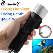 Underwater 1500LM CREE XM-L T6 LED Diving Waterproof Torch Lamp Light Flashlight