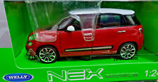 Fiat 500 L Rosso 2013 1/24 Welly