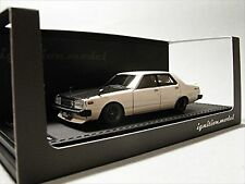 ignition model 1/43 Nissan Skyline 2000 GT-EL (C211) White Resin Model IG0326