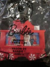 2017 McDONALD'S HAPPY MEAL BARBIE HOLIDAY EXPRESS #10 BRAND NEW IN SEALED PKG