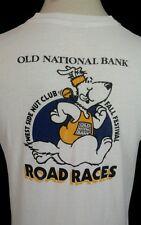 Vtg 80's Fall Festival Screen Stars Xl Road Race Running T Shirt 1985 Evansville
