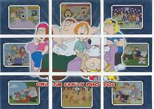 Family Guy Season 1 Complete Griffin Family Photos Chase Card Set FP1-9