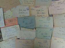 WW2 stamp GERMAN DOCUMENT card Feldpost deutsches reich envelope