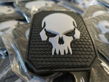 VAMPIRE PUNISHER  SKULL  MORALES - AIRSOFT - TACTICAL 2D PVC PATCH
