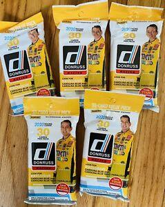 2020 Donruss Racing Panini Fat Pack lot of 5 packs