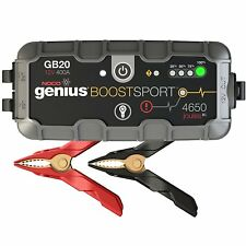 GB20 GENIUS BOOST PACK 12V 400A NOCO LITHIUM MOTORCYCLE JUMP STARTER