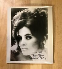 BARBARA PARKINS Autograph 8x10 Signed Photo American Actress Valley of the Dolls