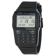 Casio Men's Watch Data Bank Multi-Lingual Digi Dial Black Resin Strap DBC32-1A