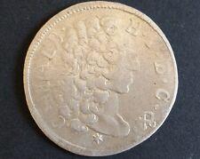 30 Kreuzer 1/2 Gulden 1731 Karl Albrecht Bayern uralte Silber Münze