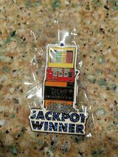 TRUMP Plaza 25th anniversary pin collection- Jackpot Winner Pin RARE Pres Trump!