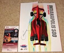 DANICA PATRICK SIGNED 2018 INDY 500 INDIANAPOLIS PROGRAM FINAL RACE *WOW* JSA