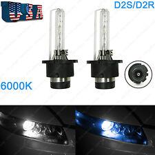 White 6000K D2S D2R HID Headlight Bulbs Low Beam BMW E39 E60 525i 530i 540i 545i
