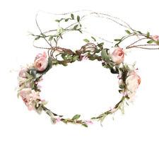 Blumenkrone Kopf Kranz Blume Stirnband Haargirlande Hochzeit Foto KopfschmYLW