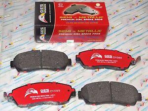 Front Brake Pads Fits 07-12 RDX 07-11 Honda CRV 05-10 Odyssey D1089
