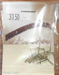 Precision Scale HO #3150 Air Hose w/Angle Cock & Glad Hand, 12 (Brass Casting)