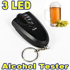 Alcootest-Electronique-Automatique 3 Led + Porte clé + Lampe-Alcootest