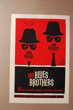 Blues Brothers Poster John Belushi Dan Aykroyd