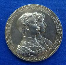 Preussen - Silbermedaille o. J. (E. Weigand) - Zum Ehejubiläum