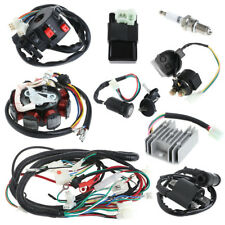 125 150 200 250cc Electric Spark Plug Switch Razor CDI Coil Wire Harness Kit