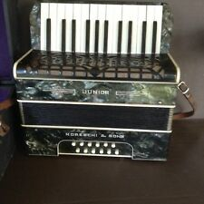 Vintage 1930'sMoreschi and Sons JUNIOR  Accordion Made in Italy