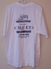 Creed / Sevendust Tour T-Shirt Vintage S/S Xl Mint Z 93 3 Doors Down Saginaw