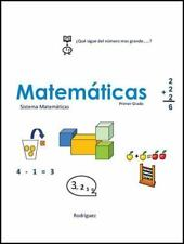 Matematicas para Primer Grado : Sistema Educativo by Gerardo Rodriguez (2016,...