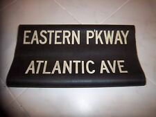 Bmt Ind Nyc Subway Sign Eastern Parkway Atlantic Ave Brooklyn Loft Ny Roll Sign
