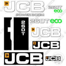 Jcb 260t Decal Kit Skid Steer Replacement Stickers 7 Year 3m Vinyl