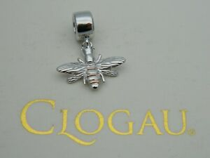 Clogau Sterling Silver & 9ct Rose Gold Queen Bee Bead Charm RRP £59.00