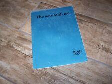 Catalogue / Brochure AUDI 100 1977 //