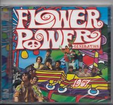 TIME LIFE FLOWER POWER GENERATION 1967 2-CD NEW SEALED! RARE