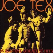 Joe Tex - 25 All Time Greatest Hits [New CD]