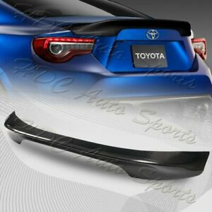 For 2013-2020 Subaru BRZ Scion FRS FR-S Carbon Fiber Rear Trunk Spoiler Lid Wing