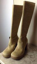 Corduroy Platform Boots Size 10 M Halloween