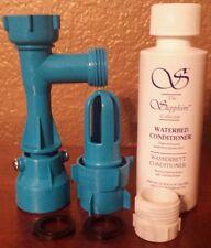 BLUE MAGIC WATERBED FILL & DRAIN FAUCET ADAPTOR (4 OZ.) CONDITIONER KIT