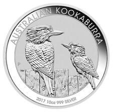2017 Australian Kookaburra 10oz .999 Silver Bullion Coin - The Perth Mint