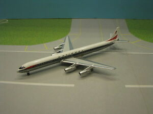 AEROCLASSICS NATIONAL AIRLINES DC8-61 1:400 SCALE DIECAST MODEL