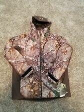 Under Armour Deep Freeze Realtree Storm 3 Camo Hunting Jacket 1291102-946 Sz XL