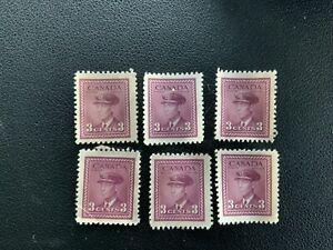 WW2 Canada Canadian War Stamps #280 George Vi