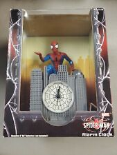 Tek Time 2002 Marvel Spider-Man Alarm Clock