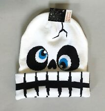 Skeleton Skull Halloween Beanie Knit Hat Cap - NEW