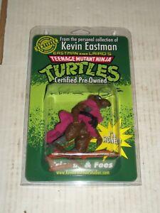 Vintage Teenage Mutant Ninja Turtles TMNT MASTER SPLINTER Signed Kevin Eastman