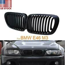 Front Bumper Kidney Grille Fit For BMW E46 325Ci 330Ci 1999-2003 2000 2001 2002