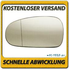 Außenspiegel Spiegelglas für AUDI TT 1998-2006 links Fahrerseite asphärisch