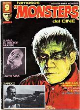 FAMOSOS MONSTERS DEL CINE nº:  8. Garbo Editorial, 1975-77. Se combinan envíos.