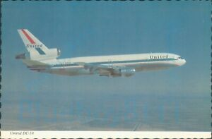 United Airlines DC10 Continental Card