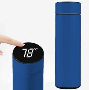 Stainless Steel Water Bottle Vacuum Insulated Flask 500ML Smart LED Temperature