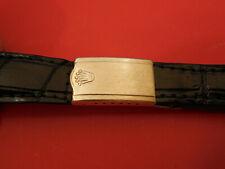 ROLEX 14K GOLD DEPLOYMENT CLASP JB BUCKLE BAND BRACELET 20MM 19M ALLIGATOR STRAP