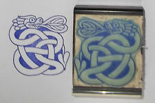 Celtic Dragon Knot rubber stamp by Amazing Arts